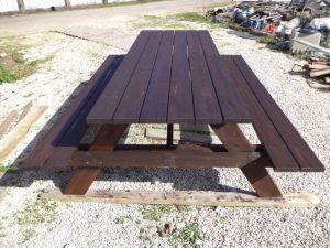 שולחן פיקניק דגם ירדן גדול