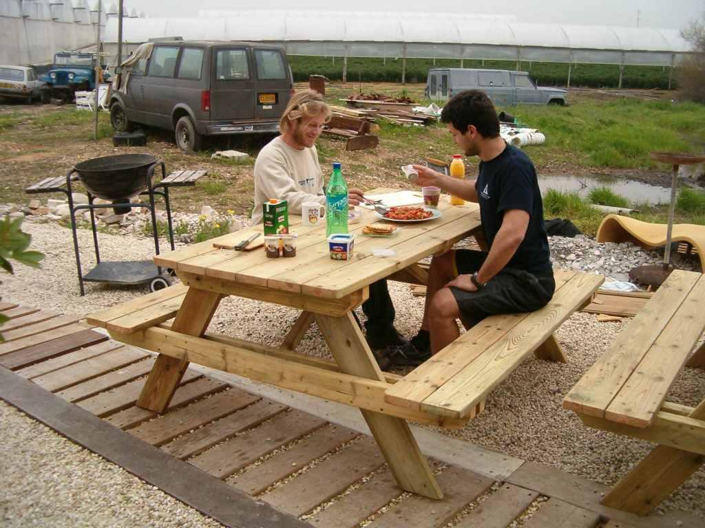 שולחן פיקניק מקצועי